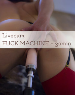 Livecam Fuck Machine !