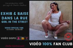 Exhib et baise dans la rue – Girl in the street