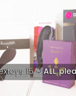 Colis sextoys 15 – IRRESISTIBLE, All pleasure