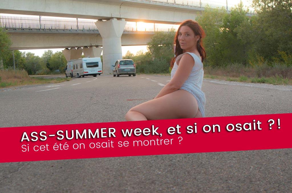 ASS SUMMER, et si on osait se montrer ? photos sexy du 29 juin