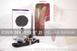 Colis sextoys 21 – les plaisirs du soumis FETISH