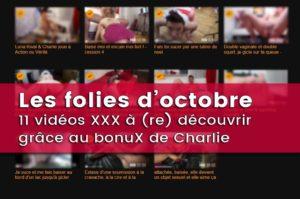 Photos & 11 vidéos porno de Charlie – Chaleur d'Octobre