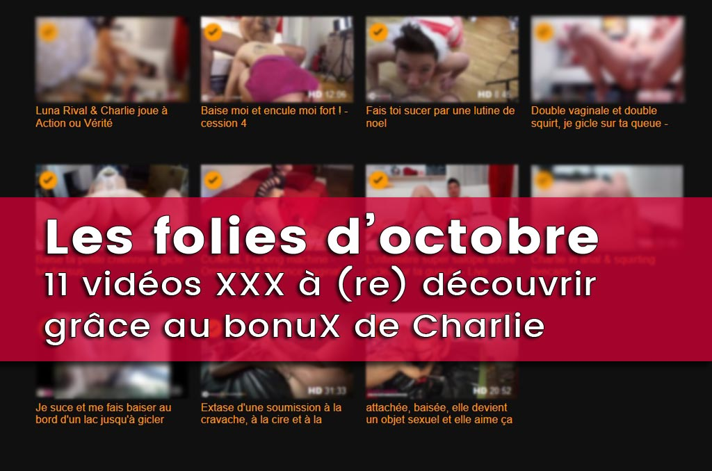 You are currently viewing Photos & 11 vidéos porno de Charlie – Chaleur d'Octobre