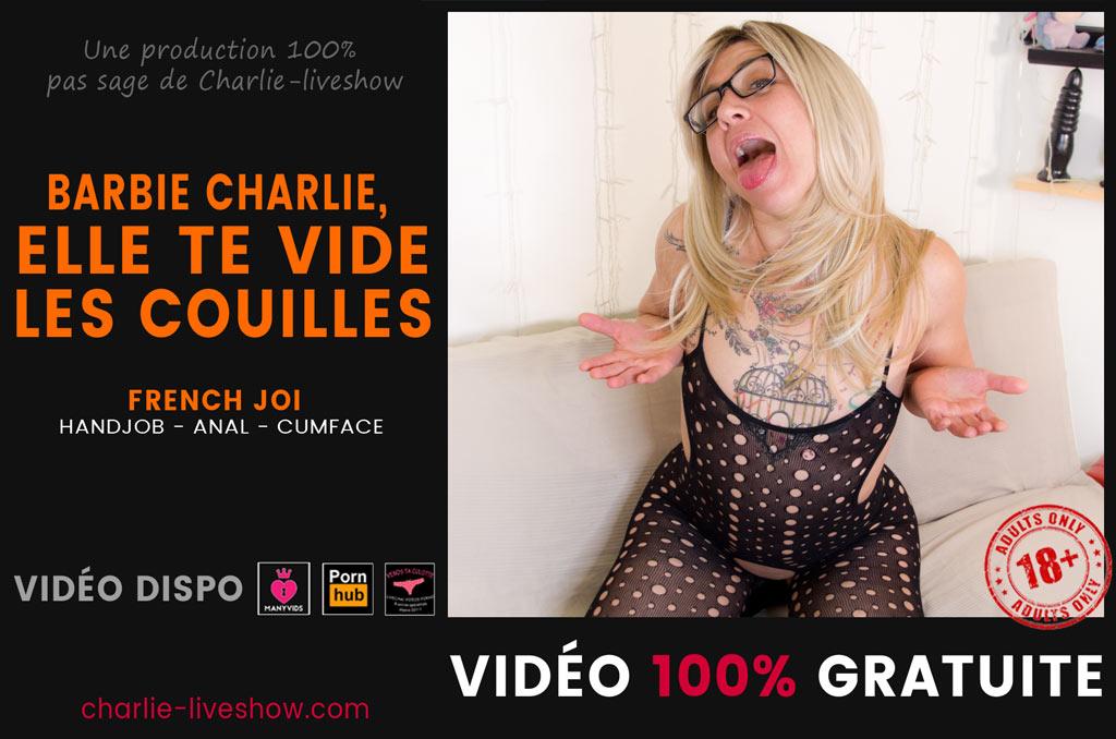 You are currently viewing Poupée Charlie : elle te vide les couilles et tu aimes ça !
