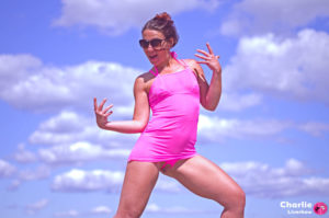 Micro bikini fendu spécial cap d'Agde – version Pink