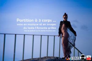 Read more about the article Partition à trois corps – clip & lecture érotique