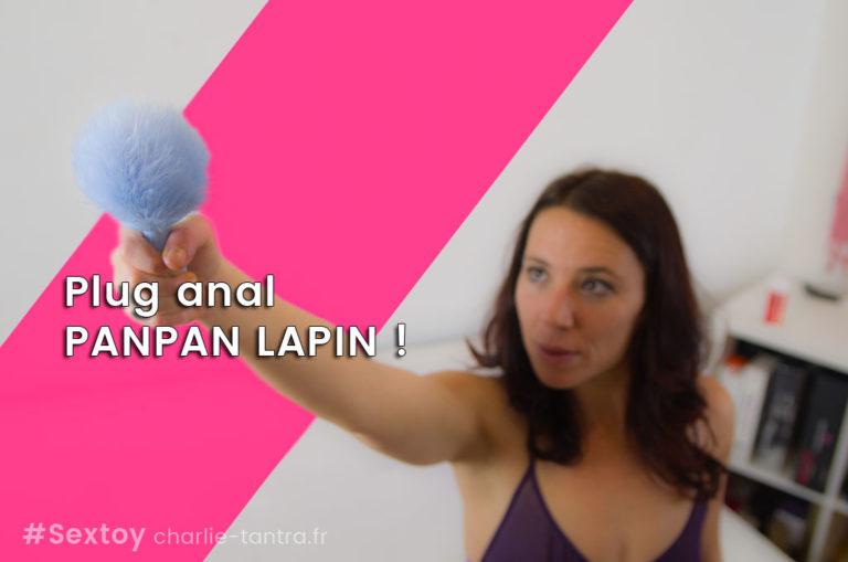 Plug anal bunny Bonjour Panpan lapin !