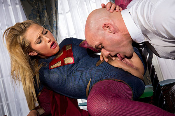 super girl cosplay porno