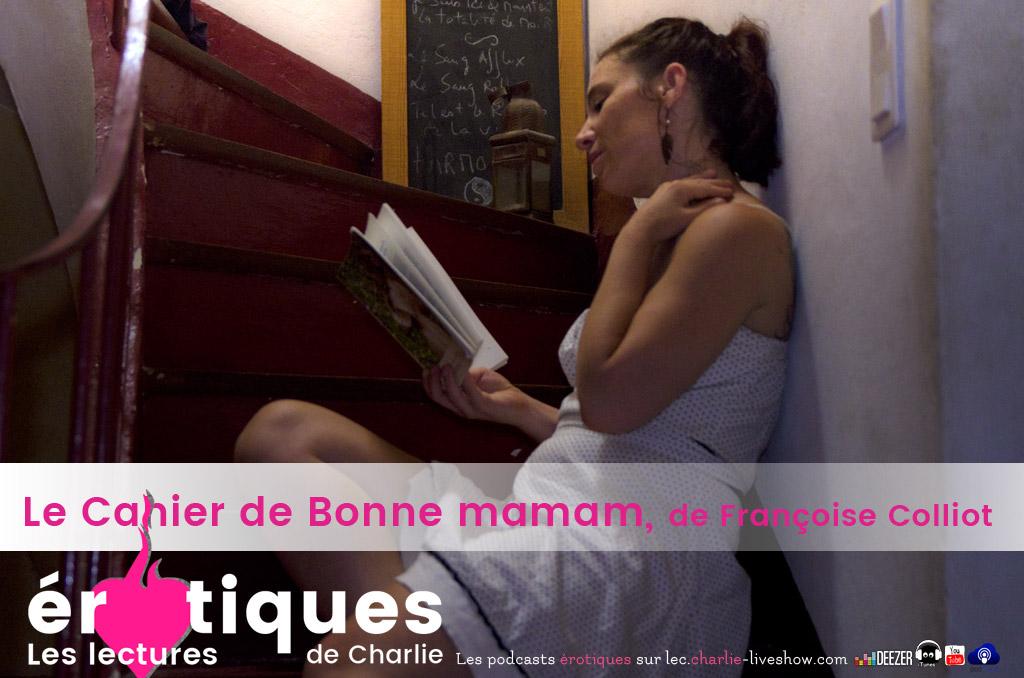 Le Cahier de Bonne Maman, roman érotique
