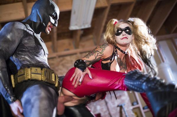 batman harley quinn baise