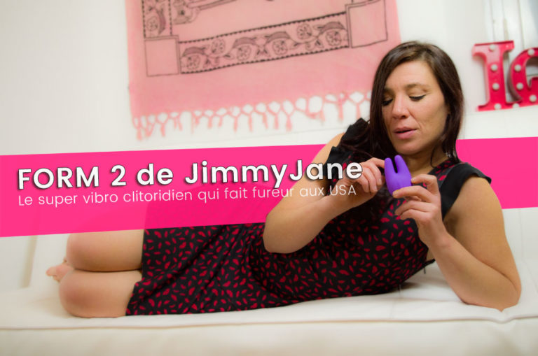 FORM2, test d'un super vibro de JimmyJane
