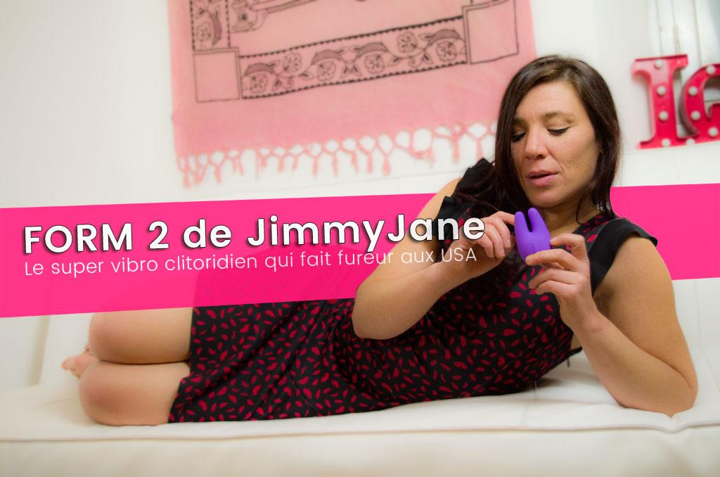 FORM2, test d'un super vibro de JimmyJane