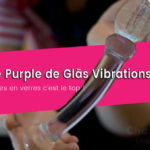 Gode en verre Purple lover de Glass Vibrations