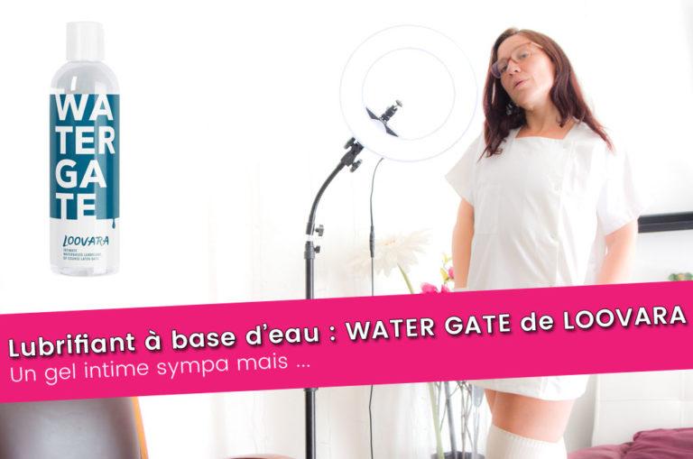 Lubrifiant à base d'eau : Watergate de Loovara