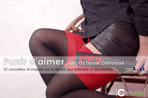 Punir d'aimer, nouvelles érotiques d'Octavie Delvaux
