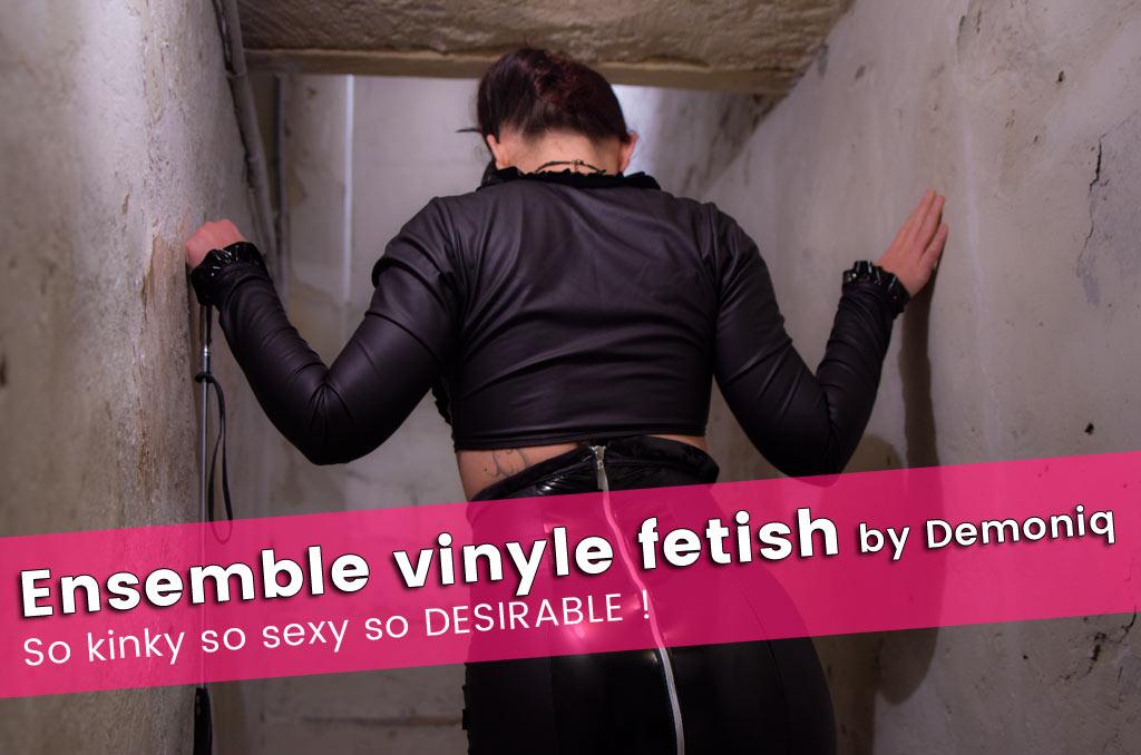 Lingerie fetish Erna de Démoniq, une tenue so BDSM