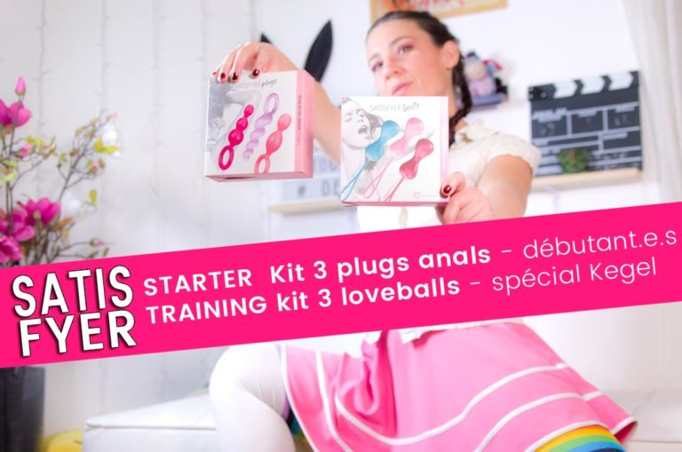 Kit Satisfyer – 3 plugs anal small & 3 loveballs