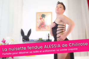 Avis lingerie : la nuisette ALESSIA CR-4085 de Chilirose