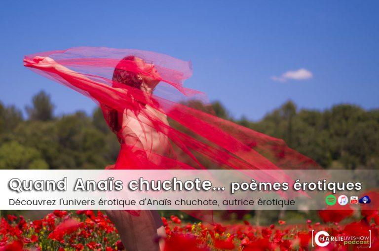 Les chuchotements d'Anaïs, autrice érotique & poétesse des genres