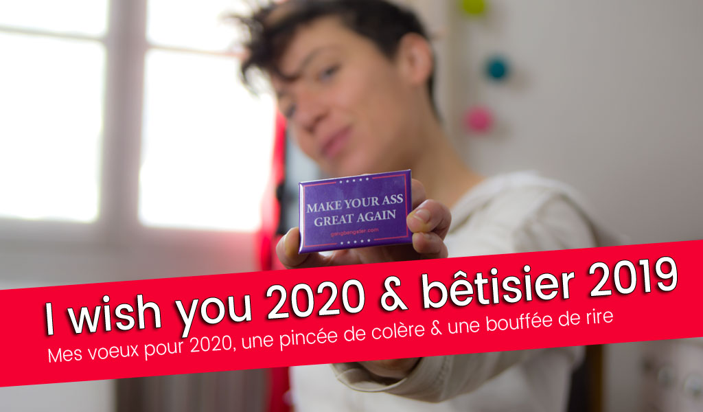 Make your ass great again ! Le bêtisier sextoy 2020 - video