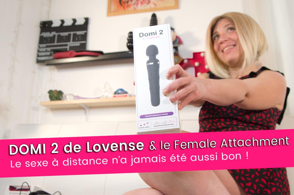 DOMI 2 Lovense, la wand idéale pour le sexe à distance 8+/10