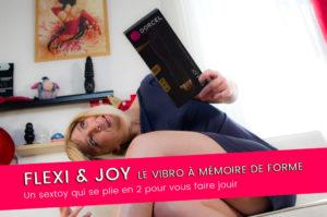Flexi & Joy, un vibro qui s'adapte à votre anatomie – 8/10