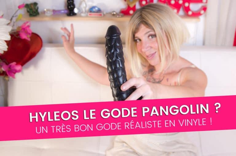 HYLEOS de monster toys, le gode réaliste du pangolin ! 9/10