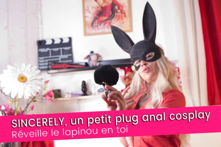 SINCERELY, un petit plug anal queue de lapin assez … 7/10