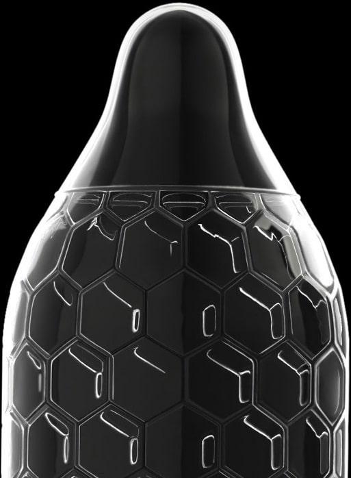 Lelo-préservatif-Hex-capote-texture