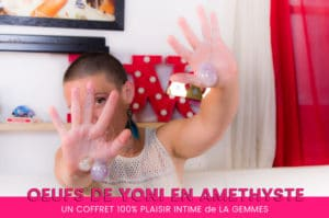 Coffret 3 oeufs de YONI en améthyste LA GEMMES – J'aime ! 9/10
