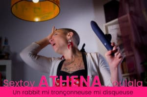 Test du sextoy Athena. Un rabbit tronçonneuse-disqueuse 3/10