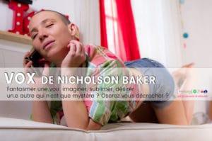Vox, de Nicholson Baker – roman érotique et téléphone rose