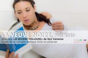 La Veuve Noire. Podcast du prix de la Nouvelle Erotique 2020