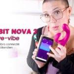 NOVA 2 par We-vibe, le super rabbit connecté et jouissif