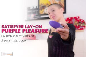Satisfyer PURPLE PLEASURE, le galet pour les caresses clitoridiennes