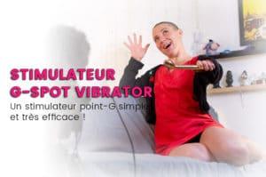 Stimulateur G-SPOT VIBRATOR de Rosy Gold, pas cher & efficace