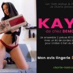 Essayage de l'ensemble fetish de Demoniq KAYO. Hot & Kinky