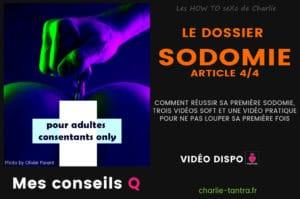 Read more about the article Dossier sodomie : on passe à la pratique en vidéo !