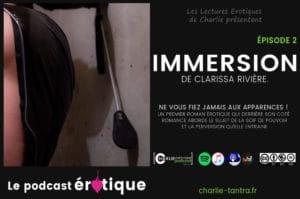Immersion de Clarissa Rivière – EP2. La face obscure du BDSM