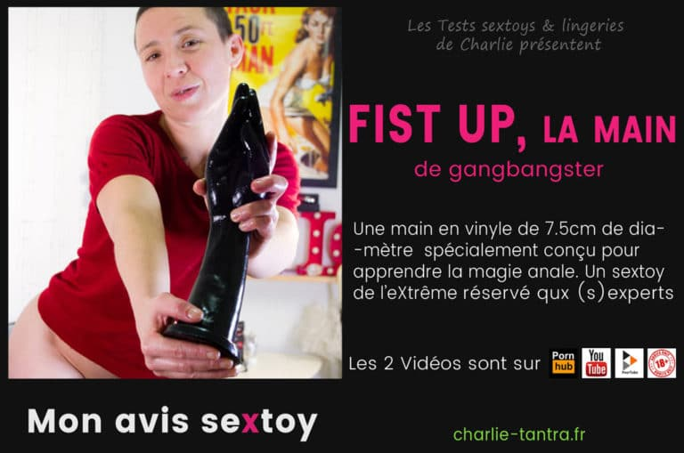 FIST UP, sextoy pour le fist fucking. Devenez un.e anal queen