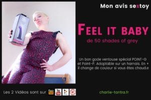 FEEL IT BABY ! Ce gode change de couleur quand tu te baises