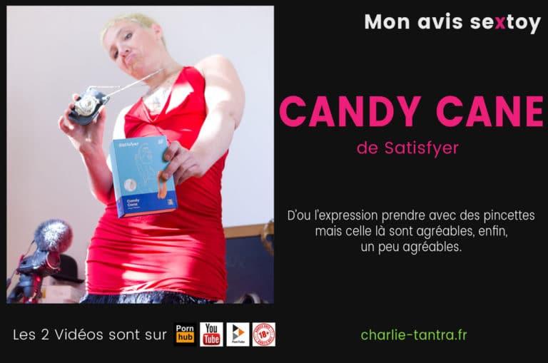 CANDY CANE Satisfyer, la pince à clitoris pour vibrer de plaisir