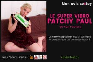 Read more about the article Patchy Paul, le mega top vibro G5 de Fun Factory – BEST OF