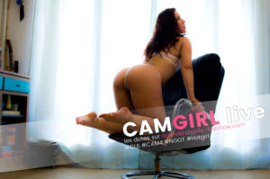 Soirée CAM4 – Charlie version camgirl
