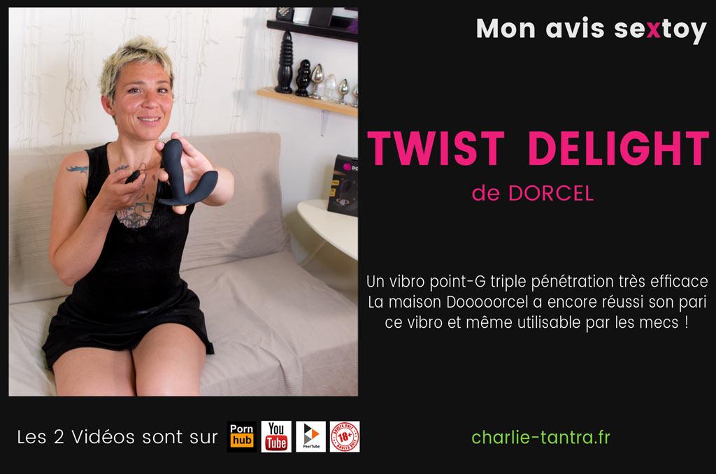 You are currently viewing Mon avis sur le TWIST DELIGHT le vibromasseur Dorcel