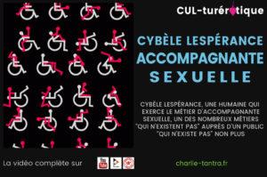 Read more about the article Cybèle Lespérance. Métier de TDS, l'accompagnement sexuel