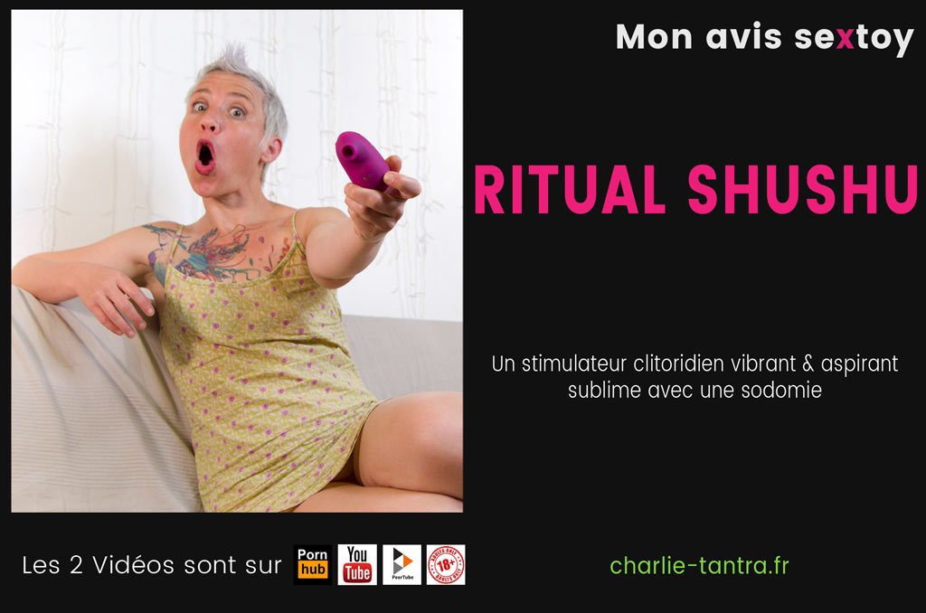 You are currently viewing Ritual Shushu un sextoy manga pour le plaisir clitoridien