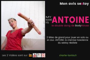 Read more about the article Double dildo BodyHouse ANTOINE. Pour jouir en solo ou en duo