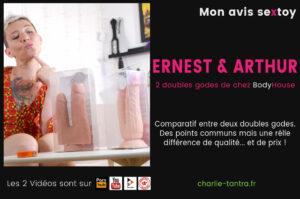 Read more about the article ERNEST & ARTHUR, test des double godes réalistes à ventouse.