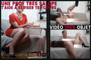 Read more about the article Roleplay porno : une prof très salope te fais réviser – 1
